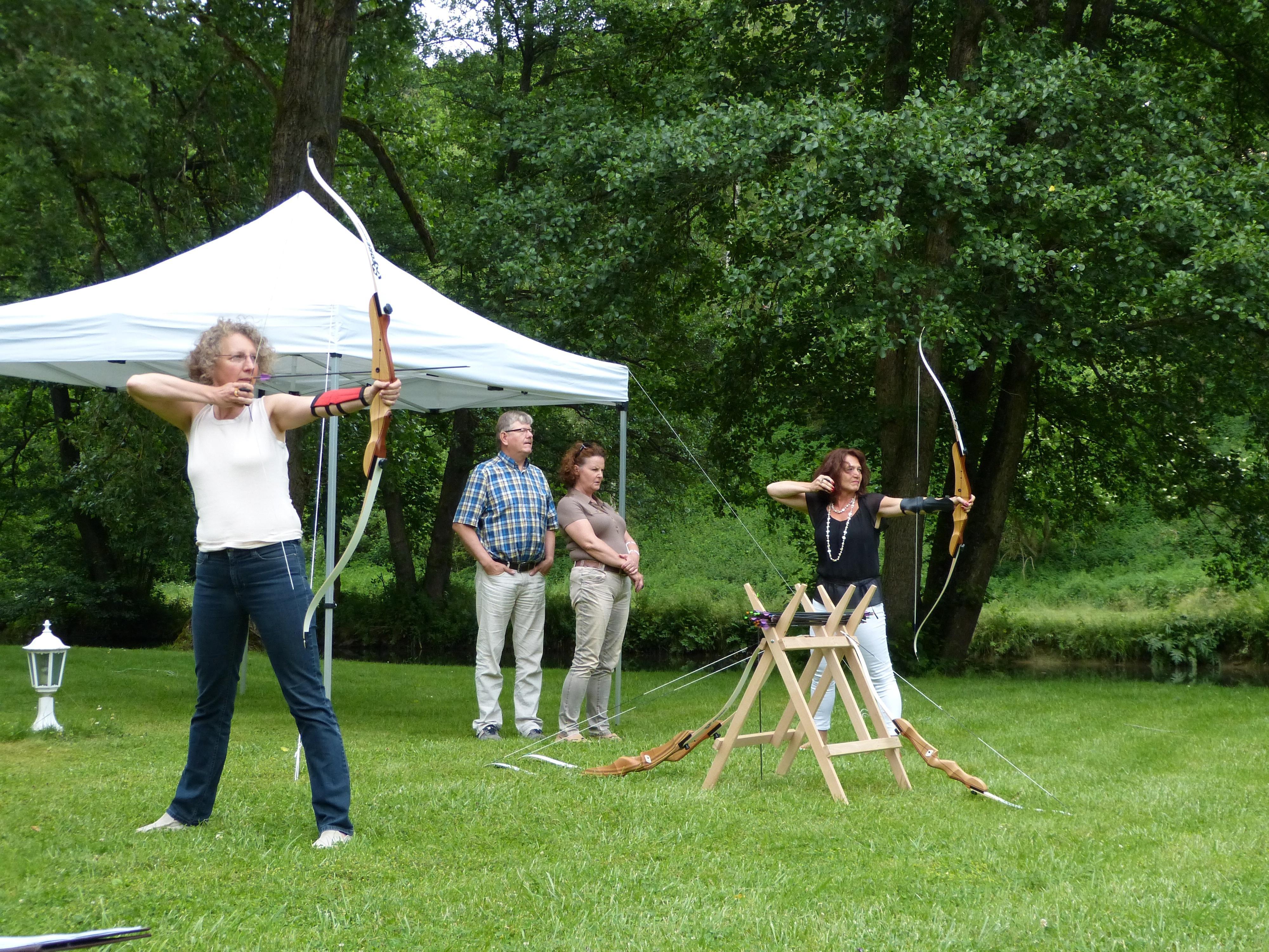 Bogenschießen in Altensteig als Teamevent