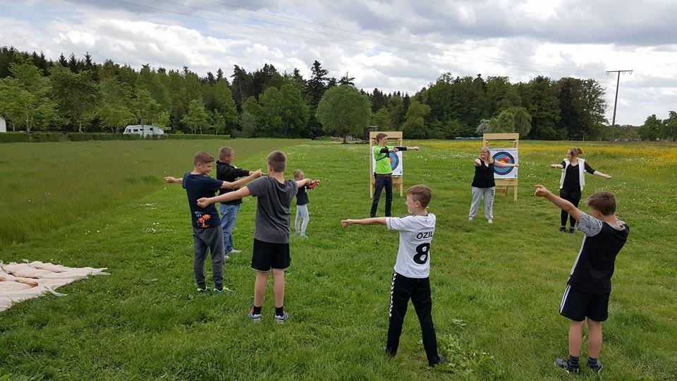 Bogenschießen-als-Kindergeburtstags-event Bogensport