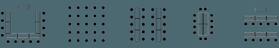 Raummöglichkeiten für Tagungen in der Eventmeile1